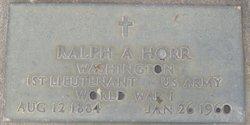 Ralph Ashley Horr