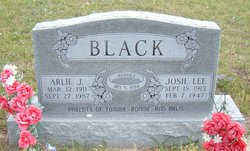 Josie Lee Black