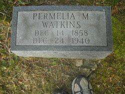 Permelia M. <i>Morgan</i> Watkins