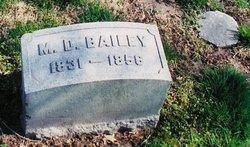 Mortimer D Bailey