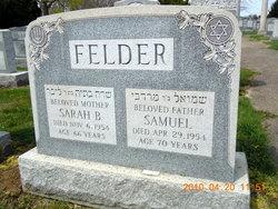 Samuel Felder{Or Fogel}