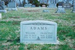 Frances E. <i>Maze</i> Adams