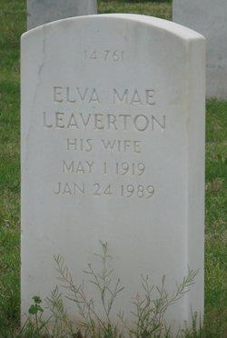 Elva Mae Leaverton