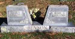 Mamie Carylee <i>Gordy</i> Benson