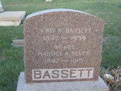 Martha A. <i>Silver</i> Bassett