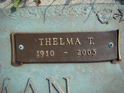 Thelma Ann <i>Turner</i> Freeman