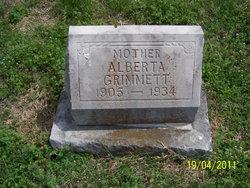 Mary Alberta <i>Simon</i> Grimmett