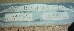 Addie C <i>Byrd</i> Redus