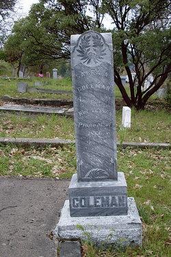 Sabra Ann <i>Goddard</i> Coleman