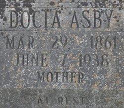 Theodocia A Docia <i>Smith</i> Asby