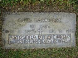 Priscilla Marguerite A <i>Maher</i> Lacourse