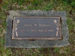 John W Boman