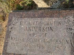 Elizabeth <i>Griffin</i> Anderson