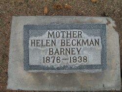 Helen <i>Beckman</i> Barney