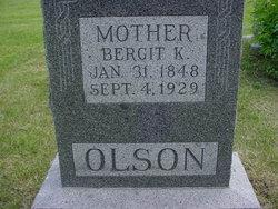 Bergit Betsy <i>Olson</i> Olson