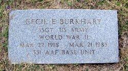 Cecil Elliott Burkhart