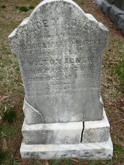 Alice M. <i>Marshall</i> Agnew