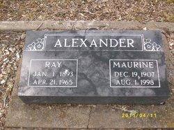 Maurine <i>Jackson</i> Alexander