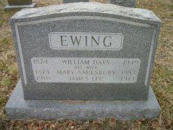 Mary <i>Saulsbury</i> Ewing