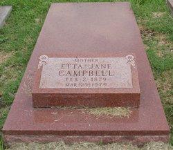 Etta Jane <i>Grubb</i> Campbell
