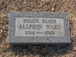 Helen <i>Black</i> Allphin Ward
