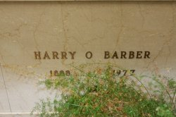 Harry Orval Barber