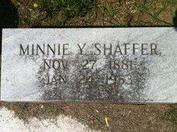 Minnie Lee <i>Youmans</i> Shaffer