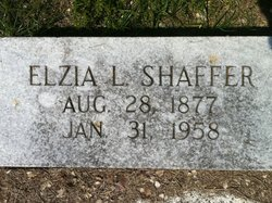 Elzia Lonnie E.L. Shaffer