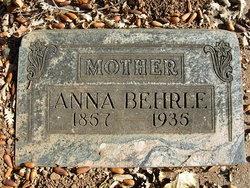 Anna Josephine <i>Foster</i> Behrle