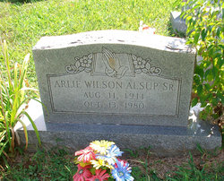 Arlie Wilson Alsup, Sr