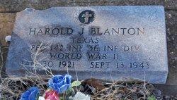 PFC Harold B. Blanton