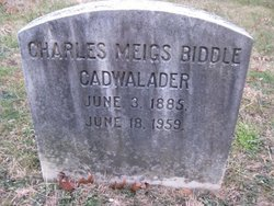 Charles Meigs Biddle Cadwalader