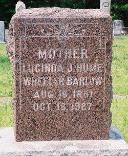 Lucinda Jane <i>Hume Wheeler</i> Barlow