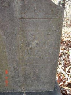 Sarah Elizabeth S.E. <i>Williams</i> Franklin