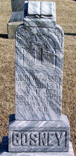 J W. Gosney
