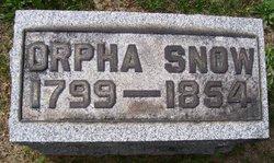 Orpha <i>Woodworth</i> Snow