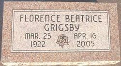 Florence Beatrice Grigsby