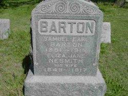 Eliza Jane <i>Nesmith</i> Barton