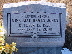 Mina Mae <i>Rawls</i> Jones