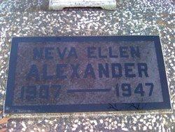 Neva Ellen Alexander