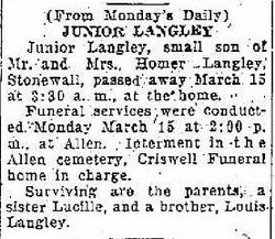 Junior Langley