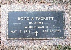 Boyd Anderson Tackett