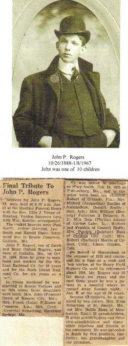 John P Rogers