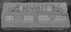 Edith Jane <i>Smart</i> Bennett