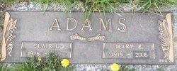 Mary E. <i>Herring</i> Adams