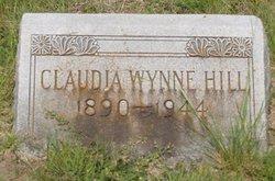 Claudia Juanita <i>Wynne</i> Hill