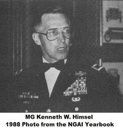 Gen Kenneth W. Himsel
