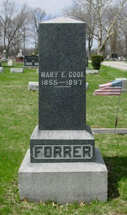 Mary E. <i>Cook</i> Forrer