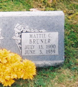 Mattie Cordelia <i>Cummings</i> Bruner