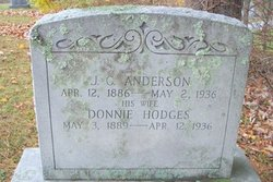 Donna May Donnie <i>Hodges</i> Anderson